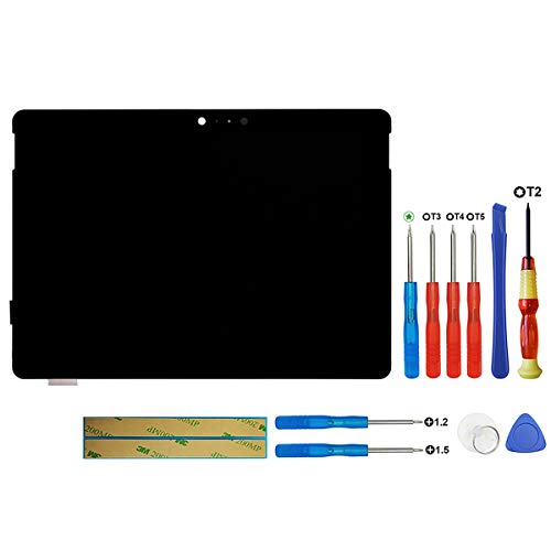 New LCD Display Compatible with Microsoft Surface Go 1824 LQ100P1JX51 1800 x 1200 10-inch (NO Frame) LCD Display Touch Screen Digitizer Assembly