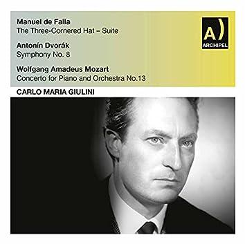 De Falla, Dvořák & Mozart: Orchestral Works (Live)