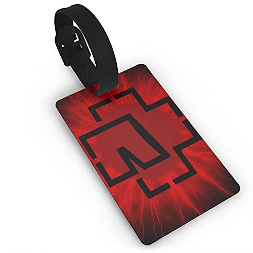 R-AMms_Tein etiqueta de equipaje encadenado etiqueta lazo en etiquetas de equipaje etiquetas de equipaje tarjeta PVC