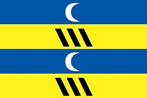 U24 vlag Ameland scheepsvlag premium kwaliteit 150 x 250 cm
