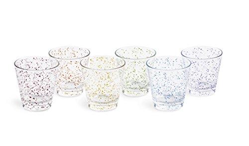 Excelsa Venezia Set 6 Bicchieri Acqua, Vetro