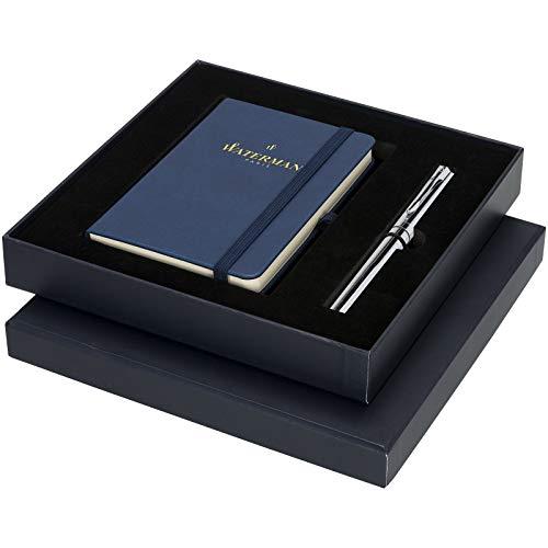 Waterman Graduate - Juego de regalo con pluma estilográfica y cuaderno de notas de tamaño A6