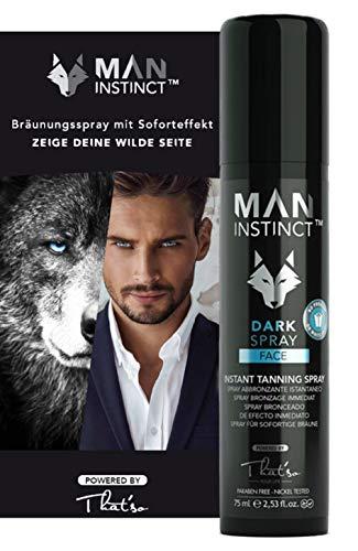 That´So - Man Instint Dark Spray (4% Dha), Spray Bronceador para El Rostro, 75 ml