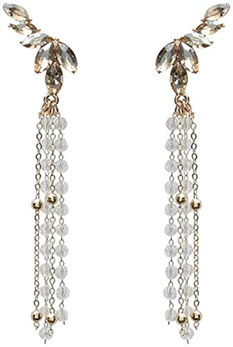 Earring The earrings are exquisite fashion and popular classic women's long style temperament high-quality