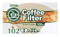 日本デキシーコーヒーフィルター無漂白 100枚入り  いつでもお買い得