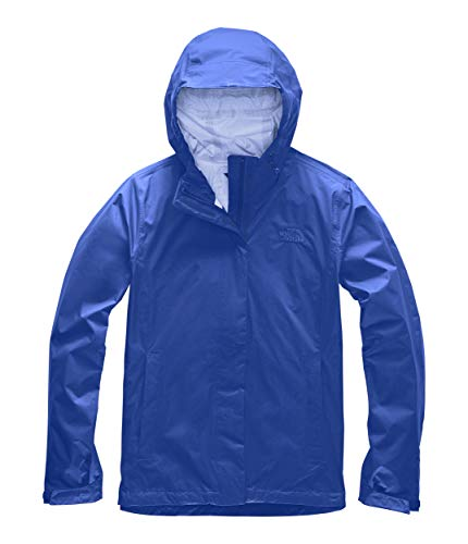 Womens Venture 2 Waterproof Hooded Blue Rain Jacket