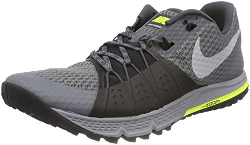 Nike Air Zoom Wildhorse 4, Zapatillas de Trail Running para Hombre, Gris (Dark Grey/Wolf Grey/Black/Stealth 001), 42.5 EU