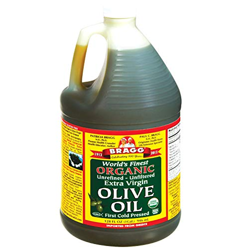 commercial Bragg Organic Extra Virgin Olive Oil – Made from Greek Coroneiki Olives – Cold Pressed EVOO… olive oil brands