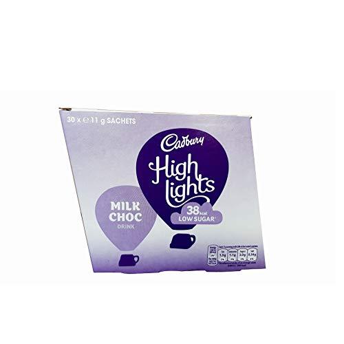 Cadbury Highlights Milk Hot Chocolate 11g Case of 30