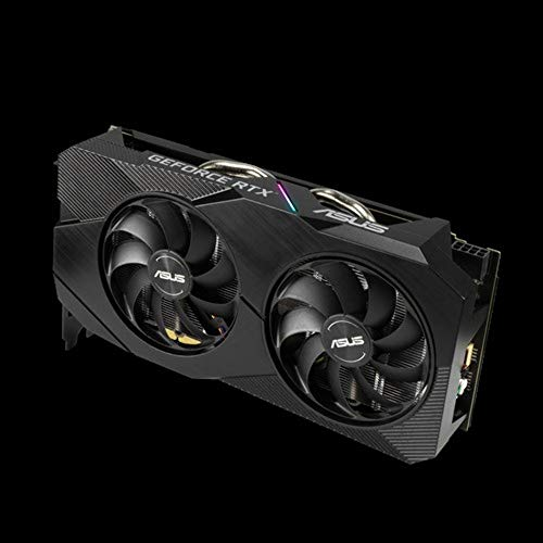 ASUS Dual GeForce RTX 2060 OC EVO Edition 6GB GDDR6 Gaming Graphics Card with Two Powerful Axial-tech Fans (DUAL-RTX2060-O6G-EVO) Components & Replacement Parts Computers & Accessories