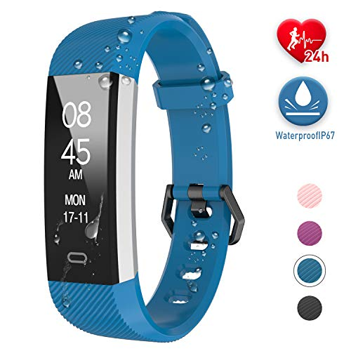 Fitpolo Fitness Tracker Waterproof with Heart...