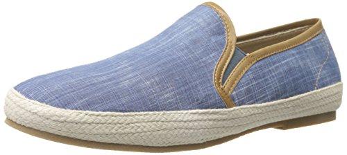 GBX Men's Dlux 13744 Slip-On Loafer, Blue Wash, 10.5 M US