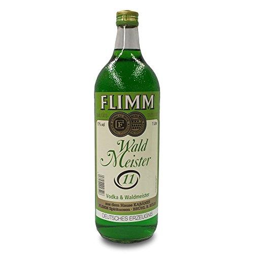 1 Flasche Orginal Flimm Waldmeister a 1,0L Alkoholgehalt 17%