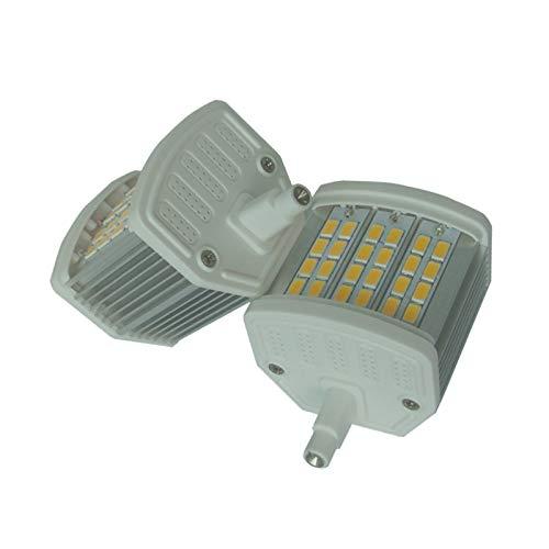YXZQ Bombilla de luz LED de maíz R7s Led Maíz 8W Luz 78mm CE Rohs Más R7s Led Cubierta De La Lámpara Oblea 5730 Iluminación del hogar (Size : Cold White 6000K)