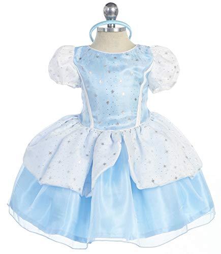 Bijan Kids 09 Princess Cinderella Dress (12 Months)