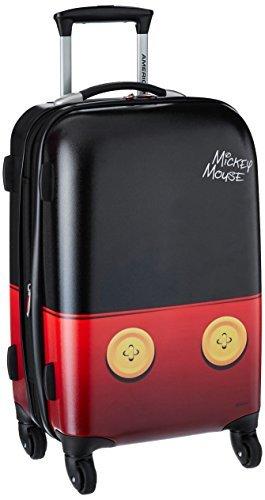 アメリカンツーリスター ディズニー ミッキーマウス キャリーバッグ スピナー ハード 機内持込み American Tourister [並行輸入品]