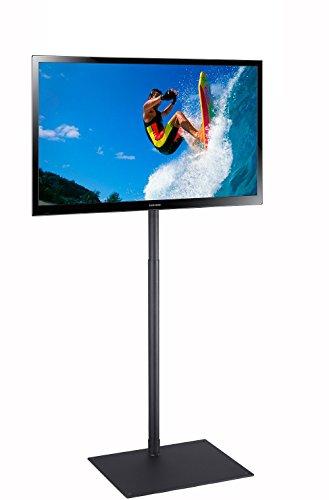 Elitech TV Display Portable Floor Stand Height Adjustable Mount for Flat Panel LED LCD Plasma Screen...