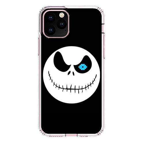 X-Art Transparent Fundas Slim Liquid Flexible Case Back Cover for Apple iPhone 11 PRO Max-Christmas-Nightmare Jack-Skellington 5
