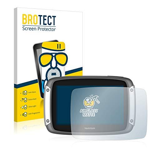 BROTECT Protector Pantalla Cristal Mate Compatible con Tomtom Rider 400 Protector Pantalla Anti-Reflejos Vidrio, AirGlass