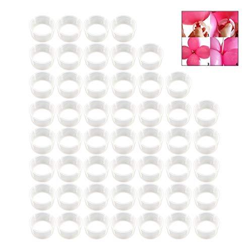 LSTK 50 Stuks Ballonnen Bow Connectors, Ballon Clip Ring, Ballon Gesp voor Bruiloft Decoratie