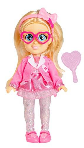 Famosa - Mini Muñeca de Love Diana de 15 cm, 5 personajes diferentes coleccionables, princesa, super heroína, bailarina, cumpleaños y doctora, para niñas mayores de 4 años (LVE06000)