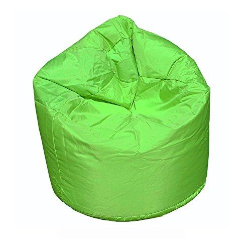 OUTLETISSIMO Poltrona Sacco Pouf POUFF Puff PUF Verde Modello Mega 90X135cm Nuovo Offerta