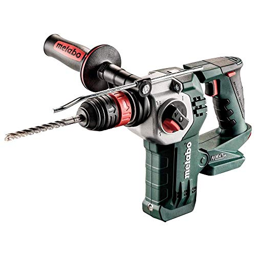 metabo Akku-Kombihammer mit Wechselfutter Battery Combination Hammer KHA 18 LTX BL 24 (600211840) Quick Change Chuck, MetaLoc, 18 V, Black, Green, Grey, Size