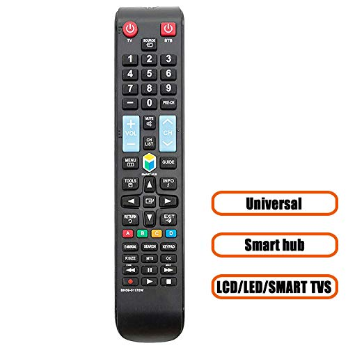 New Universal Remote Control for Samsung TV Replacement BN59-01178W for LCD LED HDTV Smart TVs Remote