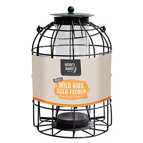 Nature's Basket Station d'alimentation pour graines d'écureuil Guard