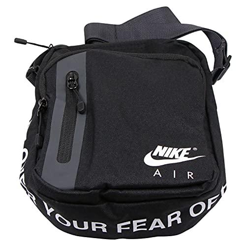 Nike Tech Crossbody-Air, Bolsa unisex, negro antracita blanco, talla única