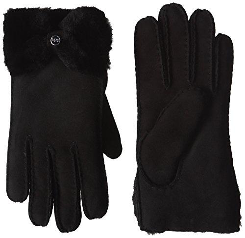 UGG Julika Damenhandschuhe Handschuhe Fellhandschuhe (L - schwarz)