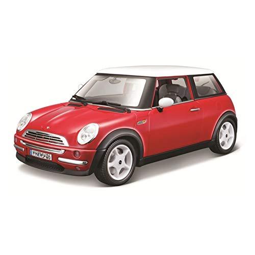 1:18 para B-M-W para Mini Cooper Alloy Vehículo De Lujo Diecast Cars Model Toy Colección Hombres Niños Niños Regalo Coche de Juguete