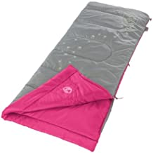 Coleman FyreFly Illumi Bug Sleeping Bag, Kids, Pink