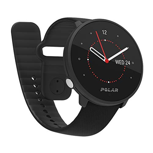 Polar Unite Fitness Watch, Adultos Unisex, Negro, S-L