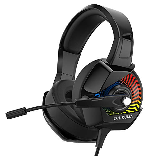 Auriculares estéreo avanzados para juegos con micrófono de doble segmento, adecuados para...