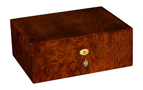 DANIEL MARSHALL LIMITED EDITION 165 CIGAR HUMIDOR IN BURL