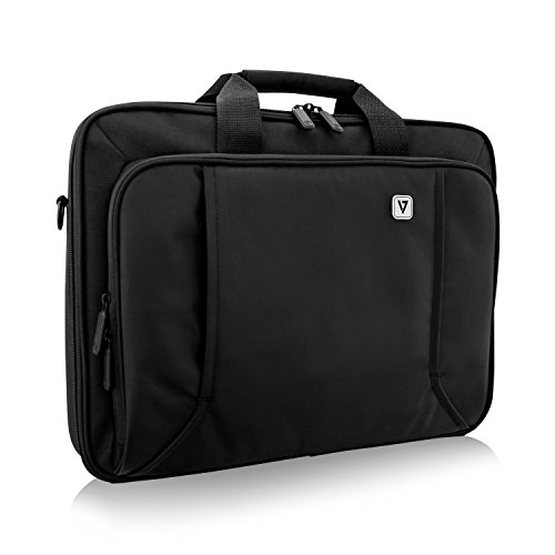 V7 CCP17-BLK-9N 17' Professional Front Loading Laptop Case (RFID, Weather Resitant)