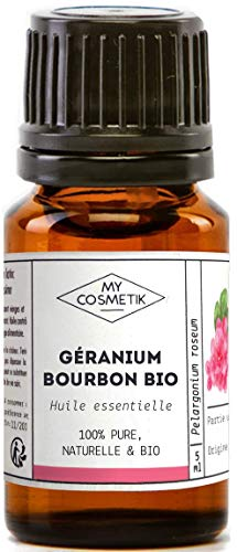 Huile essentielle de Géranium bourbon BIO - MyCosmetik - 10 ml