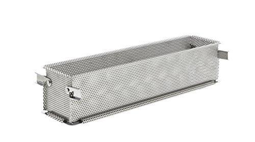 DE KÄUFER -3210.35-geperforeerd roestvrij staal vouwgeovorm 35 x 7 x 7,5 cm