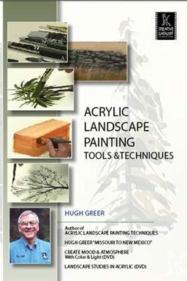Acrylic Landscape Painting, Tools & Techniques - Hugh Greer