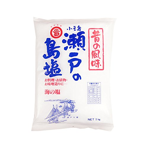 丸島醤油 瀬戸の島塩 <1kg>×5袋セット