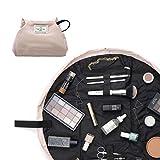 The Flat Lay Co. Make-up-Tasche, flach auslegbar, Reise-Kosmetiktasche, ohne Inhalt rosa Blush Pink...