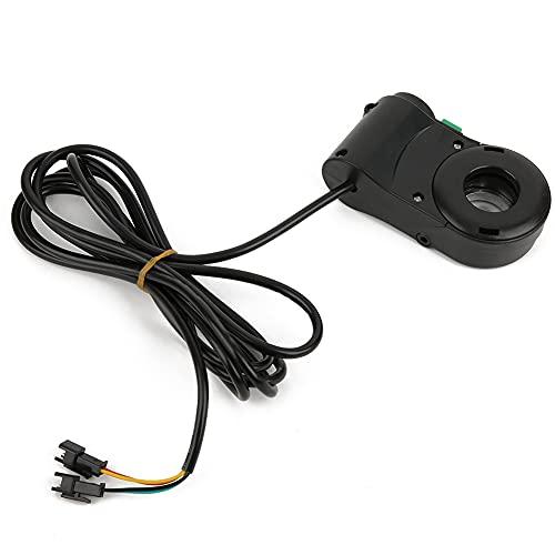 Eosnow Interruptor de Crucero del Manillar, Accesorio de Interruptor de Manillar de Bicicleta eléctrica de 5 uds, Luz de Pantalla Digital LED para Coche eléctrico