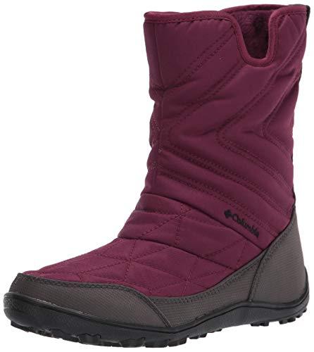 Columbia Women's Minx Slip III Snow Boot, Currant/Black, 8