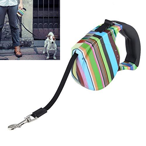 Automatisch versenkbare Zugseil versenkbare Hund Zugseil automatische Haustier Hundeleine Verlängerung Welpe zu Fuß Draht läuft for kleinen und mittleren Hund Heimtierbedarf (blau) Huangchuxin