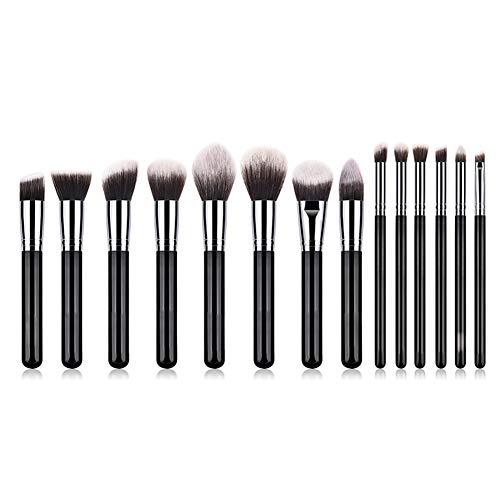 Wicemoon 14PCs Makeup Brushes Professional Makeup Brush Set Make Up Brushes Premium Synthetic Foundation Brush Blending