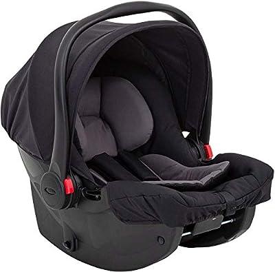 Graco SnugEssentials iSize Asiento de coche para bebé, color negro y gris