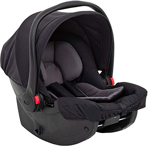 Snugessentials i-Size Babyschale (40-75 cm) Midnight Black
