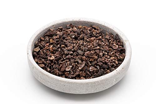 Granella di Cacao crudo biologico 700 gr Fave di Cacao raw Cacao cocoa Nibs Semi die Cacao in Granella Petti Pezzetti di Fave di Cacao 7x100 gr