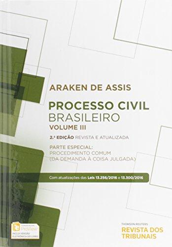 Processo Civil Brasileiro - Volume 3